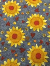 Fabri-Quilt - Patchwork / Quilting Fabric - Classic Folk Art - 100% Cotton