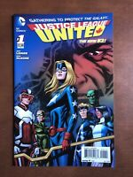 Justice League United #1 (2014) 9.2 NM DC Key Issue Comic Book High Grade New 52