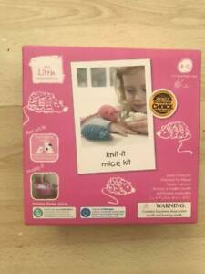 Knit it mice kit knitting kit for children age 8-12