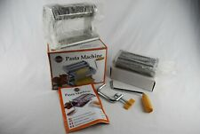 🔶 Norpro Crank Silver Pasta Maker Lasagna Fettucine Machine with Original Box