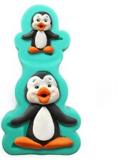 3D Penguin Silicone Fondant Mould Chocolate Sugarcraft Mold Baking Tool DIY