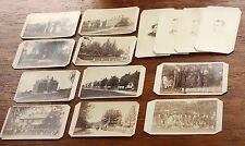 Phillips Academy Andover MA Lot 14 1860s CDV Photos - Buildings Stowe House Etc.