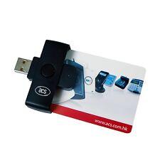 EU SHIPPING! bank Smart Card USB ACS ACR38U National ID Tachograph Reader Writer