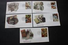 "SET GREETINGS ""MEMORIES"" GREAT BRITAIN GB UK FLEETWOOD FIRST DAY COVERS FDC"