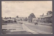 Yorkshire ABERFORD 1906 street scene PPC used from VG postmark