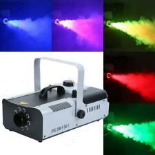 1500W DMX  Fog Rauch 9 LED Nebelmaschine Nebel Maschine & Fernbedienun