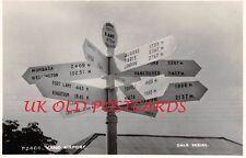 NIGERIA -  KANO, Sign Post at Kano Airport - Real Photo