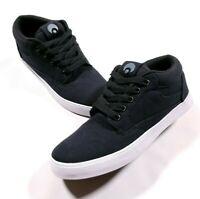 Osiris Chaveta Black Canvas Skate Shoes Size 8 Men's