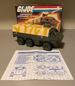 GI Joe 1983 APC 100% Complete with Blueprints and Box ARAH