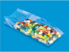"""Case of Clear Gussetted Polypropylene Gift/Soap Bags - 3"""" x 1 3/4"""" x 8 1/4"""""""