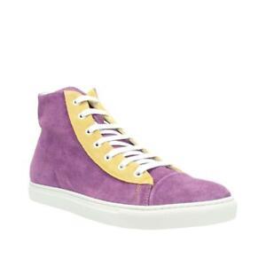 Lancio Lancio Suede Hi Top Sneaker