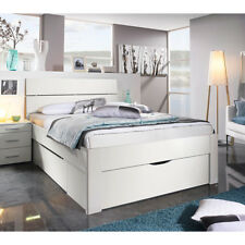 Bett Scala Bettgestell Jugendbett Bettsystem weiß mit Schubkästen 140x200 cm