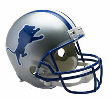 Detroit Lions Nfl Riddell Full Size Replica Throwback Football Helmet