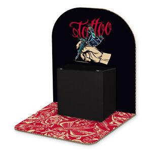 itenga Geldgeschenk Verpackung Gutschein Tattoo zum Aufstellen inkl Geschenkbox