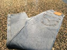 3 pair LEVI'S 501 Mens Size 38x32 Classic Button Fly Distressed Denim Jeans
