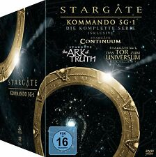 61 DVD-Box ° Stargate - Kommando SG-1 ° Superbox ° NEU & OVP ° Staffel 1 - 10
