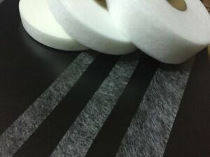 IRON ON Apparel Interlining HEMMING WEB/WONDER WEB ROLL-100 Metre or As Required