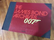 Libro fotografico 007 The James Bond archives Paul Duncan +originale strip DR No
