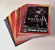 Batman Returns Trading Card Lot - Vintage 1992 Topps