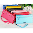 Long zipper Leather Purse Lady wallets Women's Wallet Baellerry 7 colors