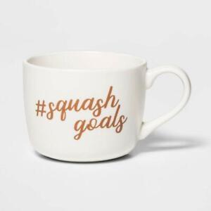 14oz Porcelain Squash Goals Cheyenne Mug – Threshold