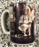 "1998 Steve Hanks Vintage Coffee Mug ""Being Perfect Angels"" The Hadley Collection"