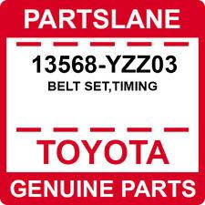 13568-YZZ03 Toyota OEM Genuine BELT SET,TIMING