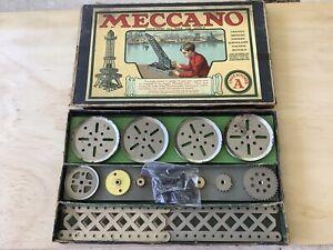 Meccano  Inventors A set  circa 1920-22.Nice set.
