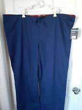 Dickies Scrubs Pants Unisex Men Women Eds Drawstring Pants Blue 83006 Sz 2Xl