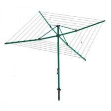 Hills Everyday Rotary 37 Washing Line Norfolk Pine Green (37m Clothes Line)