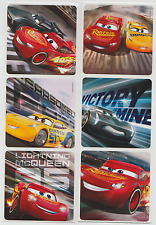 """12 Assorted Disney Cars 3 Stickers, 2.5"""" x 2.5"""" each, Party Favors"""