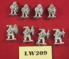 Escudo enano alternativa ejércitos 28mm Pared Troopers x8 1991 Metal ref LW209
