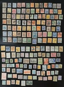 Uruguay collection of 100's F/VF used few with faults 2020 cv$80.00++ (k478)