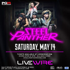 STEEL PANTHER 2016 PHOENIX CONCERT TOUR POSTER - Comedy Rock, Glam Metal Music