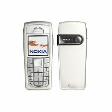 PEARL NOKIA 6230i MOBILE PHONE-UNLOCKED WITH A NEW HOUSE CHARGER AND WARRANTY.