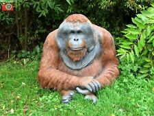 More details for male orangutan, ultra life like. outdoor or indoor. xlarge size. incredible!