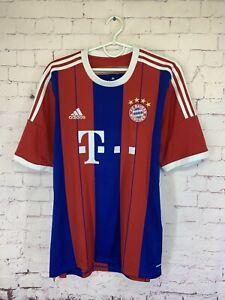 BAYERN MUNICH GERMANY 2014 2015 FOOTBALL SHIRT JERSEY HOME ADIDAS ORIGINAL