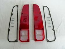 JEEP J10 J20 TRUCK TAIL LIGHT LENS KIT BOTH SIDES WITH GASKETS AND SCREWS NEW!!!