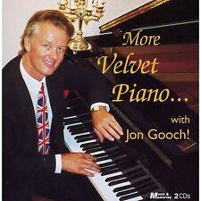 ON GOOCH  ~ More Velvet Piano With NEW SEALED 2CD Instrumental Easy Listening