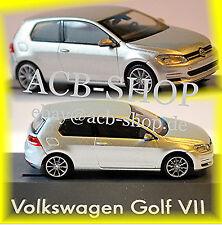 VW Volkswagen Golf 7 - 2 portes 2012-14 réflexe argent métallique 1:87 Rietze