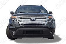 Ford Explorer chrome grille insert grill overlay mesh trim 2011-2015