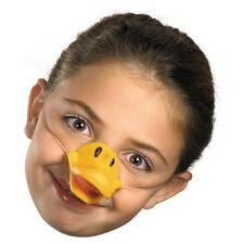 Childs Duck Bill Mask Beak Animal Costume Rubber Ducky Nose Mouth Bird Children