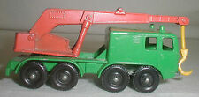1965 * Matchbox Lesney * Faun 8 Wheel Crane * England * No. 30c