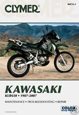 KAWASAKI KLR650 KLR 650 1987-2007 Clymer MANUALE m4743 NUOVO