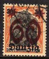 Danzig 1920 MI 19DD signed Schlegel BPP  CANC  VF
