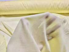 Cotton Lawn Canary Yellow Fabric 100% Cotton 56