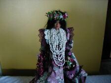 "Hawaiian Doll 18"" Tall. Hand Made. Mint Condition."