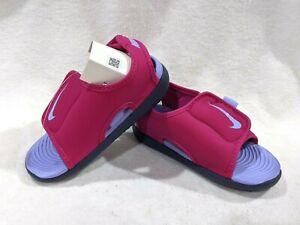 Nike Sunray Adjust 5 V2(TD) Fireberry/Purple Toddler Girl's Sandals-Asst Sz NWB