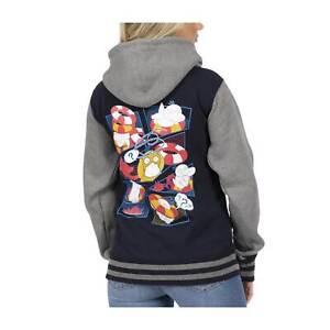 Pokemon Psyduck Zip Hoodie Sweatshirt