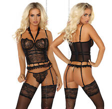 Beauty Nights Mailys Sexy Corset Eye-Lash Lace and A Cute External Edge